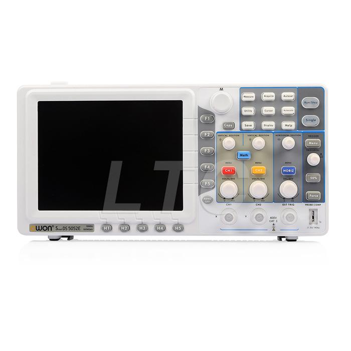 Owon Oscilloscope Display : Owon sds e quot hd display digital storage