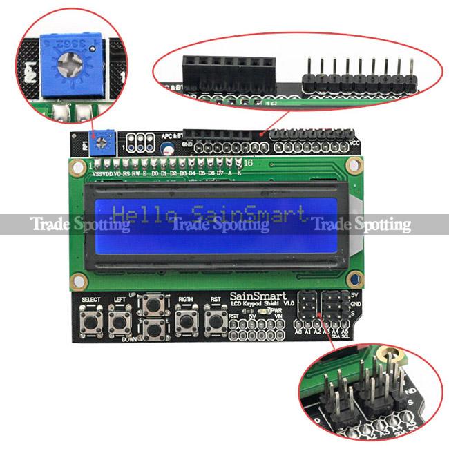 raspberry pi3 lcd keypad shield v1 0 wiringpi raspberry pi forums rh raspberrypi org wiringpi i2c lcd LED Not LCD I2C