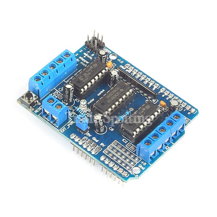 Sainsmart l293d motor drive shield for arduino duemilanove mega2560 r3 ebay Arduino mega 2560 motor shield