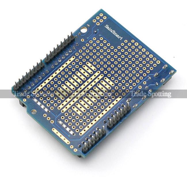 Sainsmart Uno R3 Prototype Shield L293d Board Starter