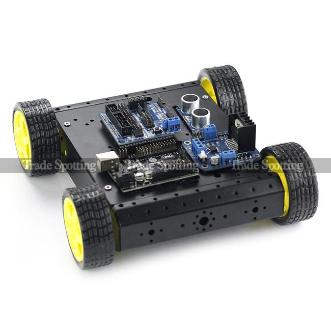 Sainsmart uno r wd mobile car l n hc sr sensor