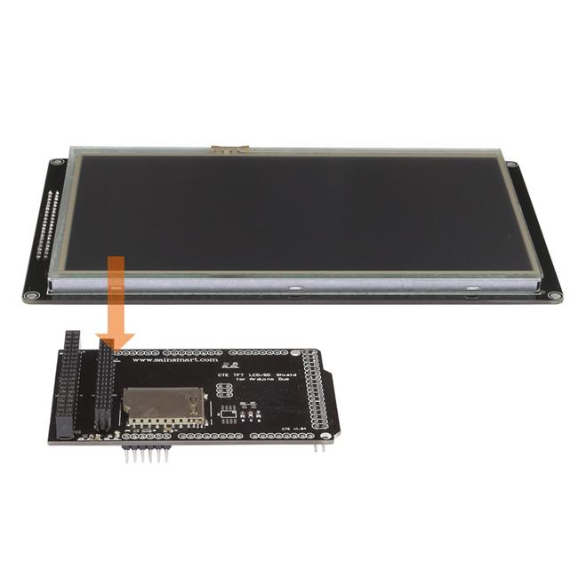 sainsmart 7 7 inch tft lcd screen sd card slot tft. Black Bedroom Furniture Sets. Home Design Ideas