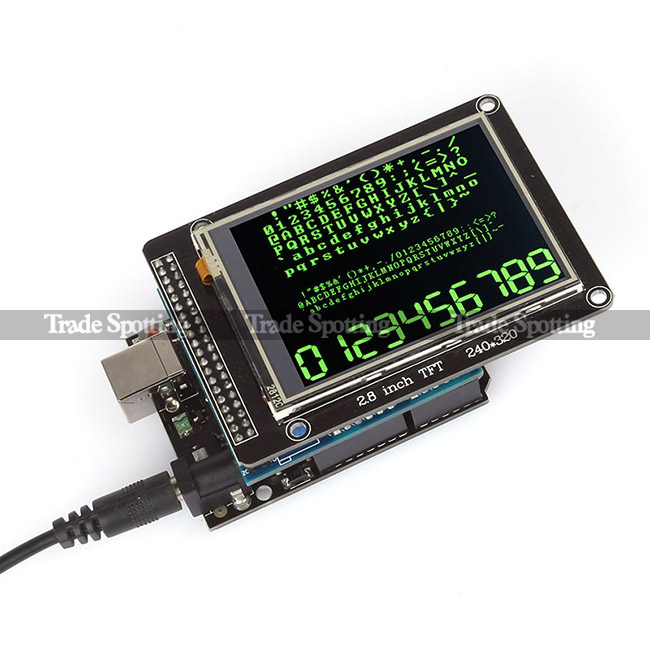 Sainsmart quot tft lcd display touch panel