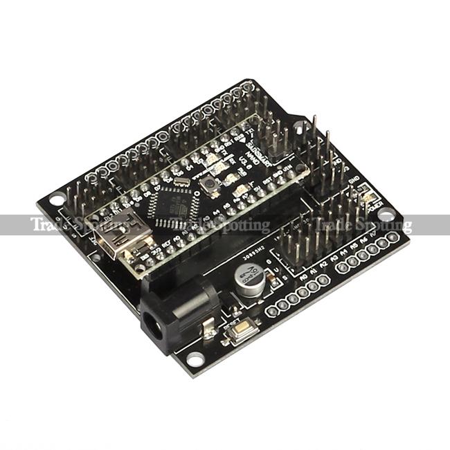 Sainsmart nano v3 0 expansion shield 5v servo motor for Arduino nano motor control