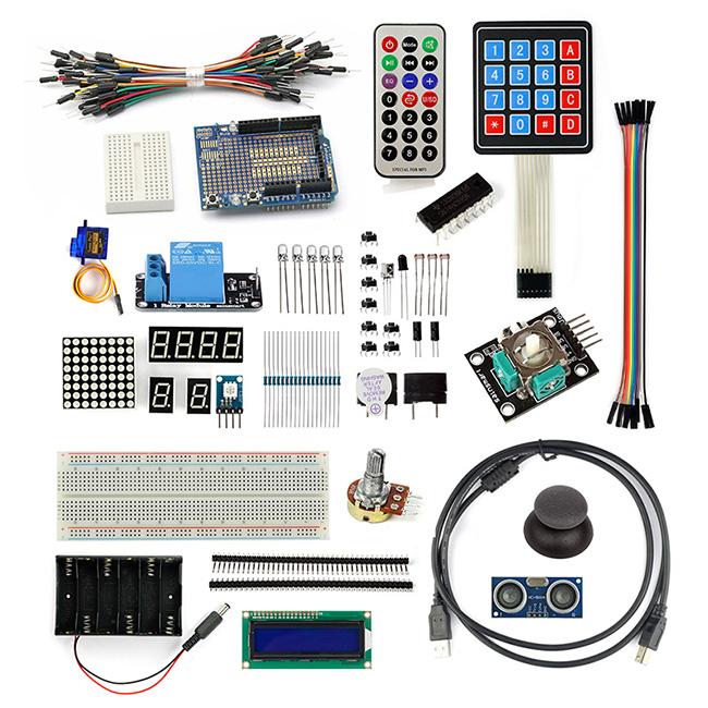Sets sensor breadboard starter kit for arduino mega
