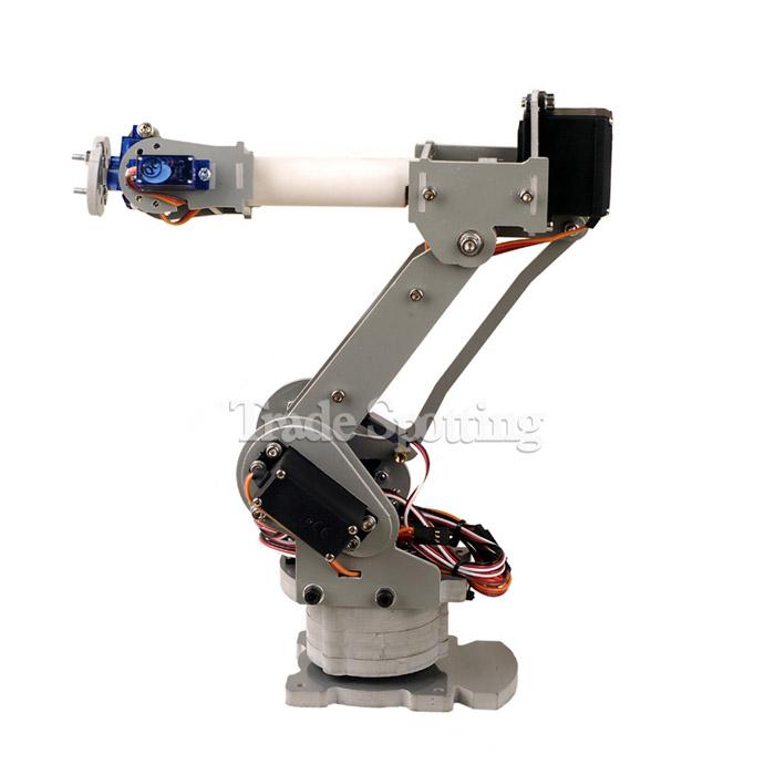 Robotic Palletizing Arms : Sainsmart control palletizing robot arm shield for diy