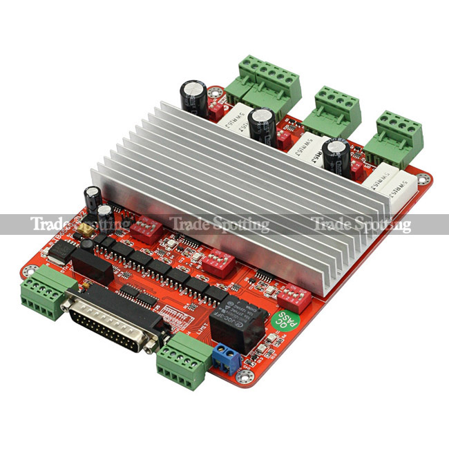 Sainsmart cnc 4 axis tb6560 stepper motor driver board for Stepper motor controller board