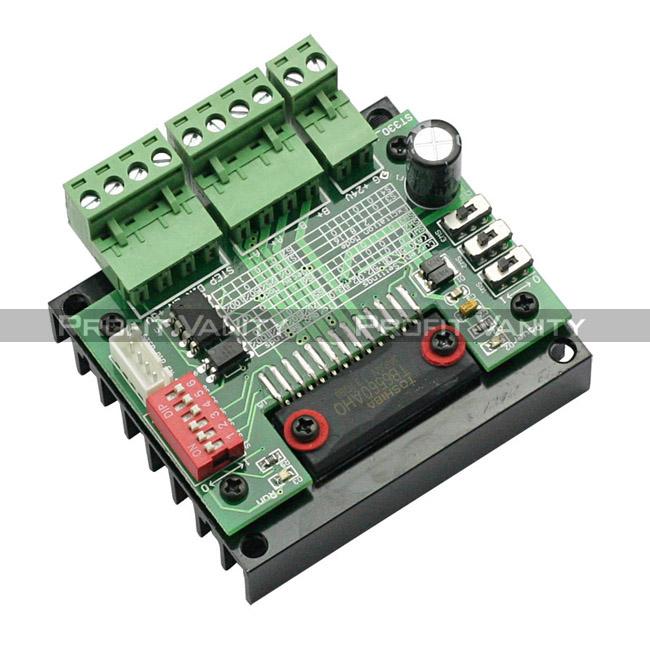 Sainsmart 5 axis mach3 cnc breakout interface board blue for Tb6560 stepper motor driver manual