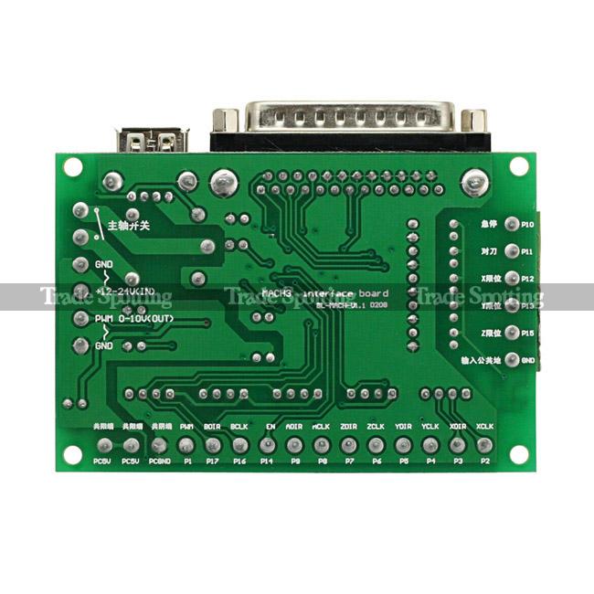 raspberry pi wiring diagram mach3 5 axis cnc breakout interface board for stepper  mach3 5 axis cnc breakout interface board for stepper