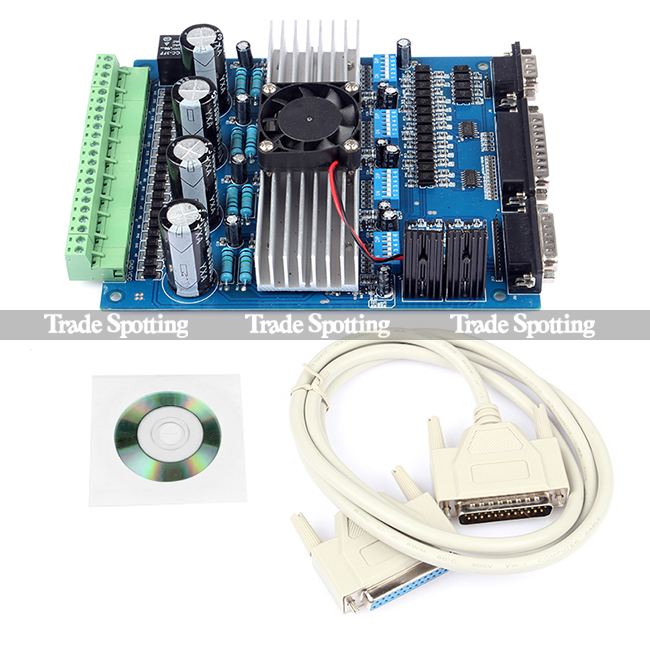 Tb6560 4 axis 3 5a stepper motor driver controller for for Tb6560 stepper motor driver manual