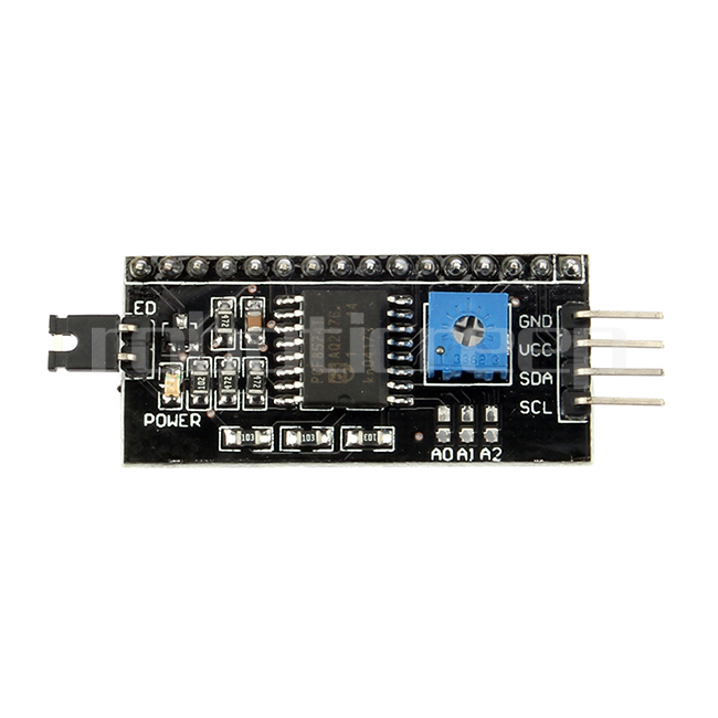 iic i2c twi spi serial interface module port for arduino lcd1602