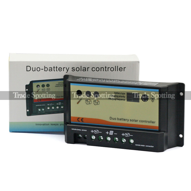 Solar Battery Meter : Remote meter mt a dual battery solar panel charge
