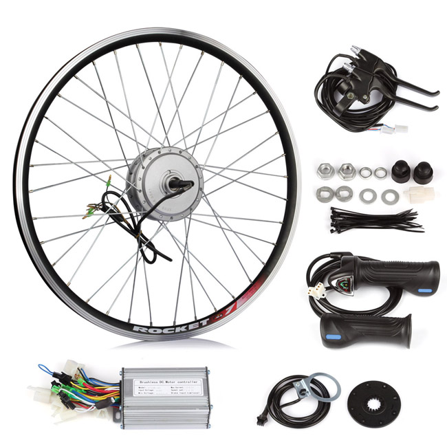 elektro fahrrad umbausatz hinterrad 26 zoll ohne akku e bike pedelec pdf 250w ebay. Black Bedroom Furniture Sets. Home Design Ideas