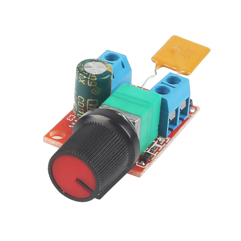 Mini Dc 3v 35v 5a Motor Pwm Speed Controller Speed Control