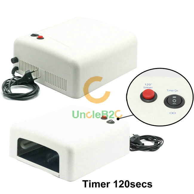 36w uv gel nail curing le dryer bulb ongles sec s 232 che machine blanc