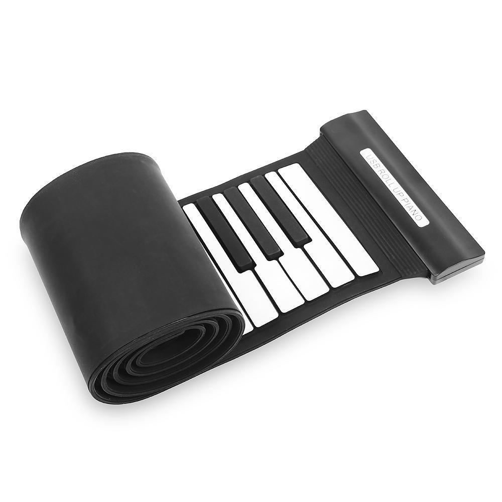 konix professional usb 88 key midi roll up electronic piano keyboard silicone ebay. Black Bedroom Furniture Sets. Home Design Ideas