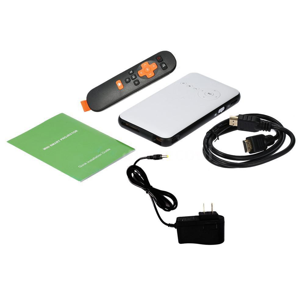 Mini led dlp wifi new bluetooth pocket projector home for Usb pocket projector