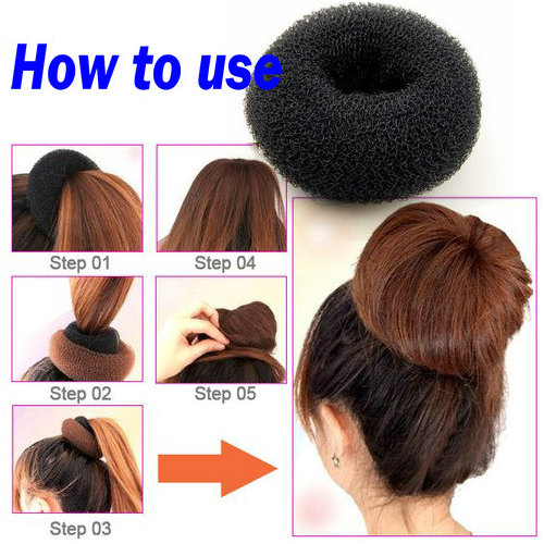 bun ring tutorial just a quick tutorial on how to use a bun ring how to use a bun donut to create an updo i m showing how to use a bun donut this is a quick and easy way to create a stylish updo please subscribe for more how to use a doughnut ring to make a hair bun wrap and twist your hair around the ring to create a bun shape spread your hair down and around the ring until you ve covered the.