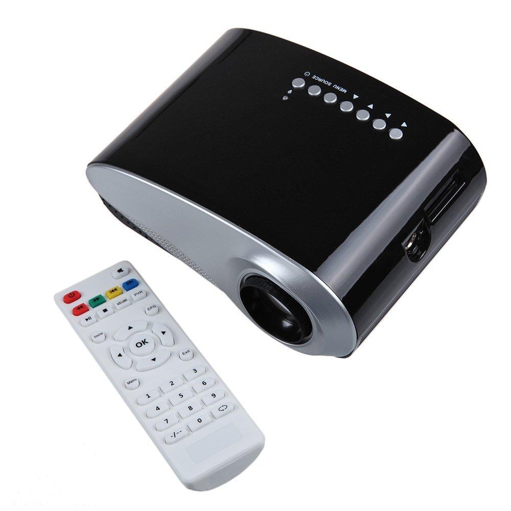 neu mini beamer led tragbar projektor fernseher tv 4 3 16 9 usb hdmi vga dhl ebay. Black Bedroom Furniture Sets. Home Design Ideas