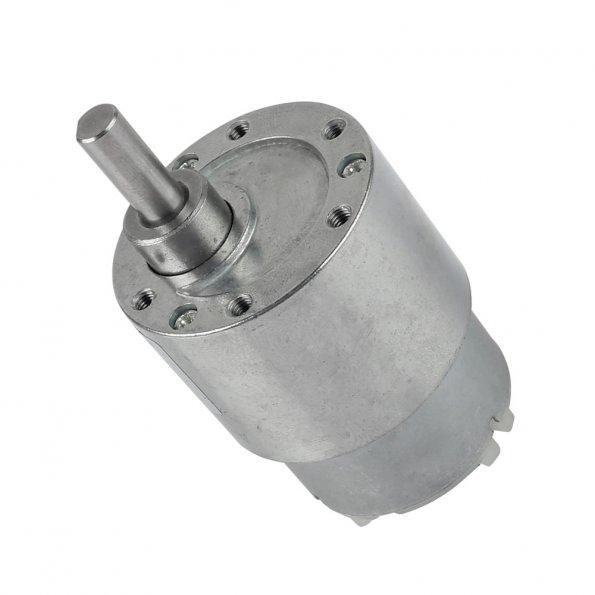 Dc 12v 30 rpm 6mm shaft high torque gear box speed for Gear motor 500 rpm