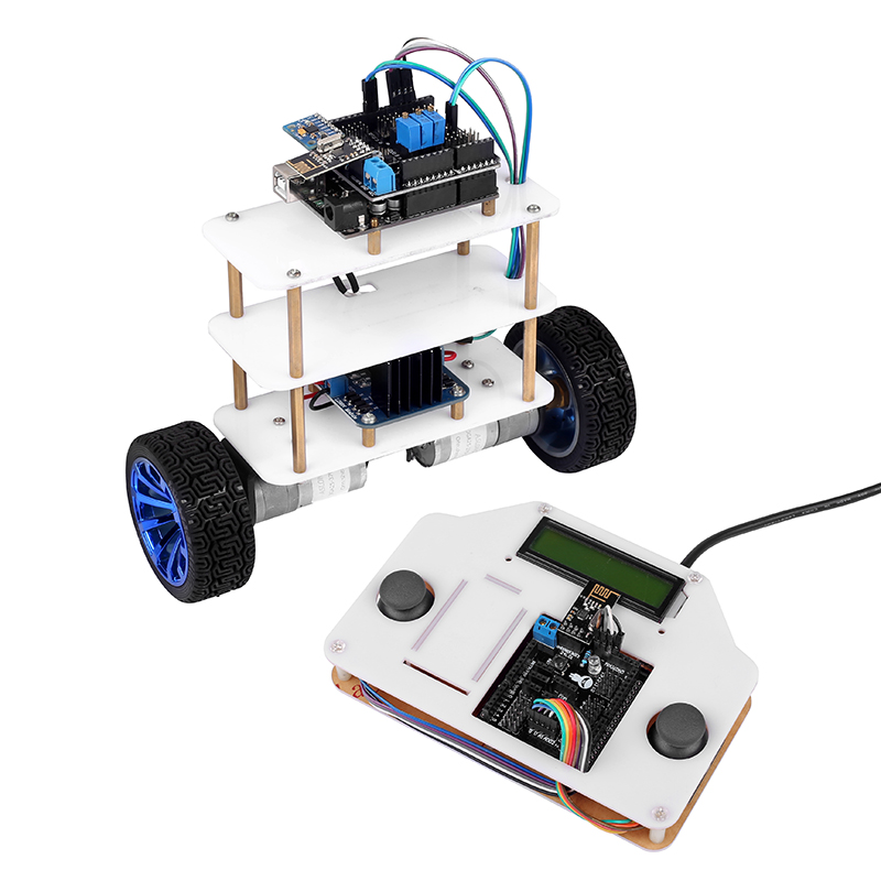Details about InstaBots V2 0 LCD1602 2 Wheels Self-Balancing Robot Car Kit  UNO R3 For Arduino