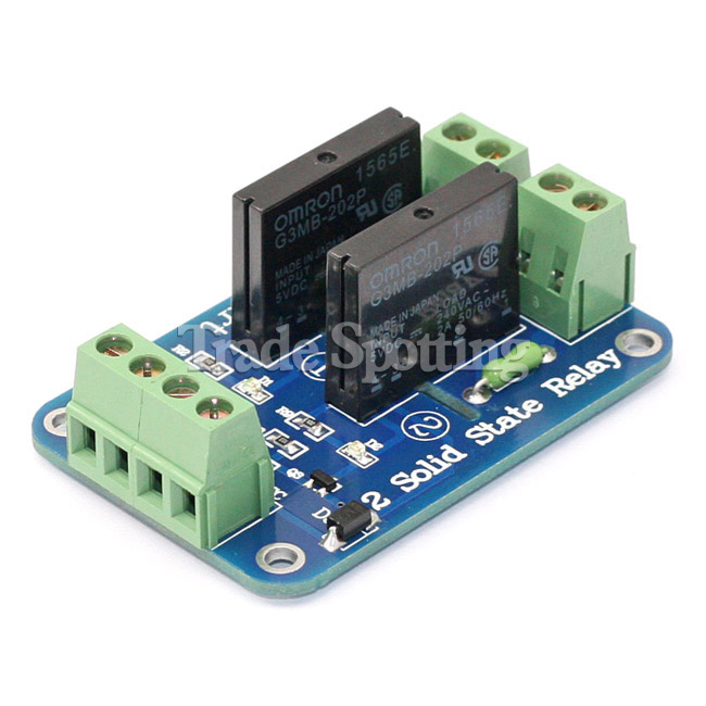 Sainsmart 8 Channel 5v Solid State Relay Module Opto