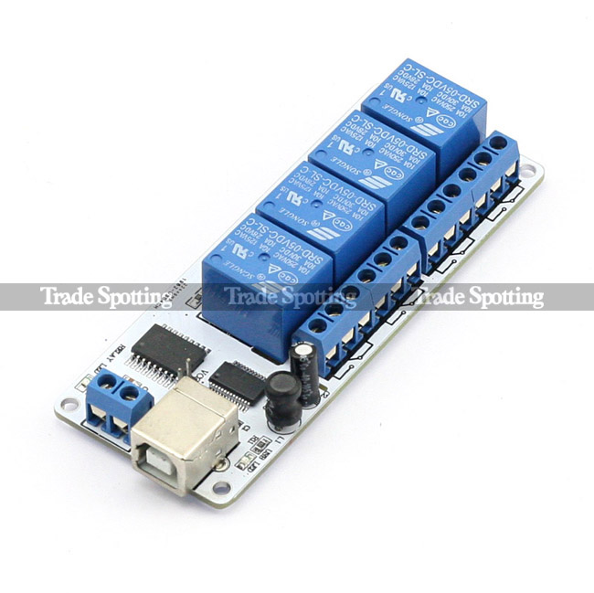 2 4 8 16 Channel Relay Board Module Optocoupler Led For