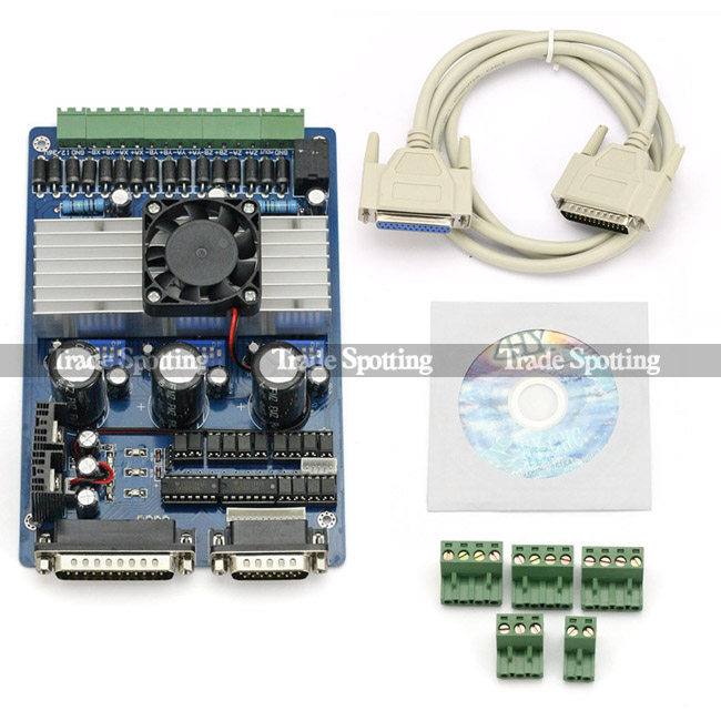 Tb6560 cnc router 3 axis 3 5a stepper motor driver board for Stepper motor control software