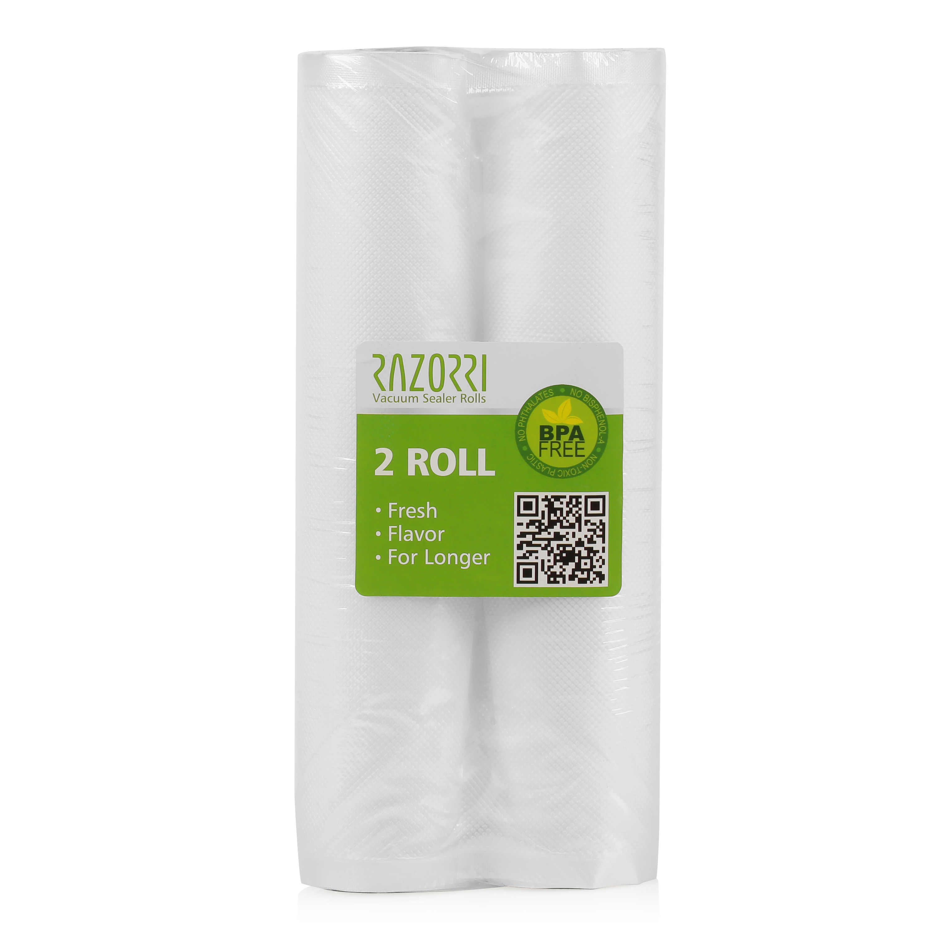 Razorri All Sizes Vacuum Sealer Bags Rolls Commercial