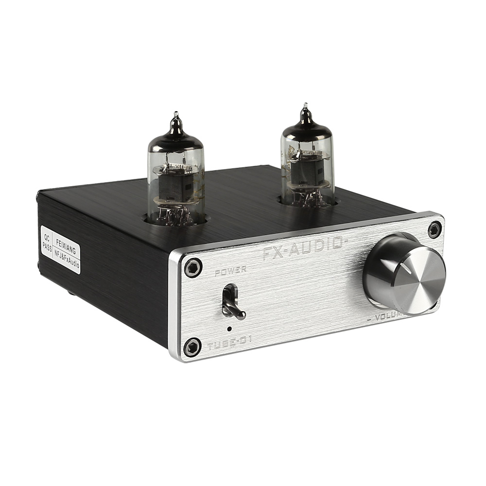Mini 6J1 Valve&Vacuum Tube Pre-Amplifier Stereo Audio HiFi ...