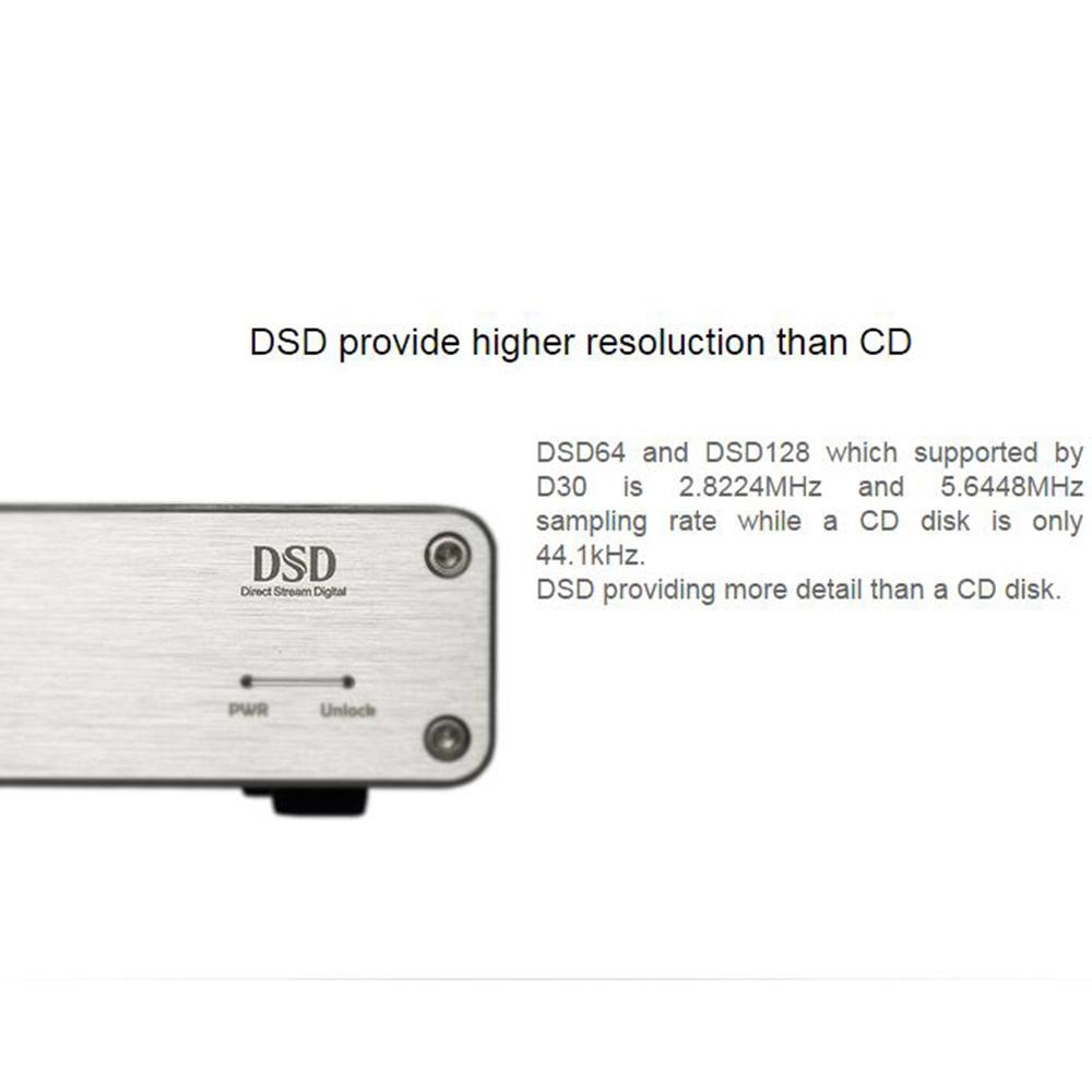 Digital-analog-wandler Tragbares Audio & Video Richt D30 Mini Hifi Desktop Dsd Audio Decoder Usb Dac Koaxial Optische Faser Xmos Cs4398 24bit 192 Khz Verstärker