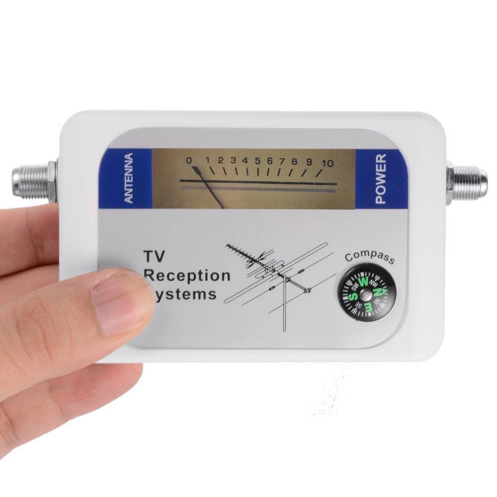 Tv Antenna Signal Strength Meter : Mini dvb t finder digital aerial tv antenna signal