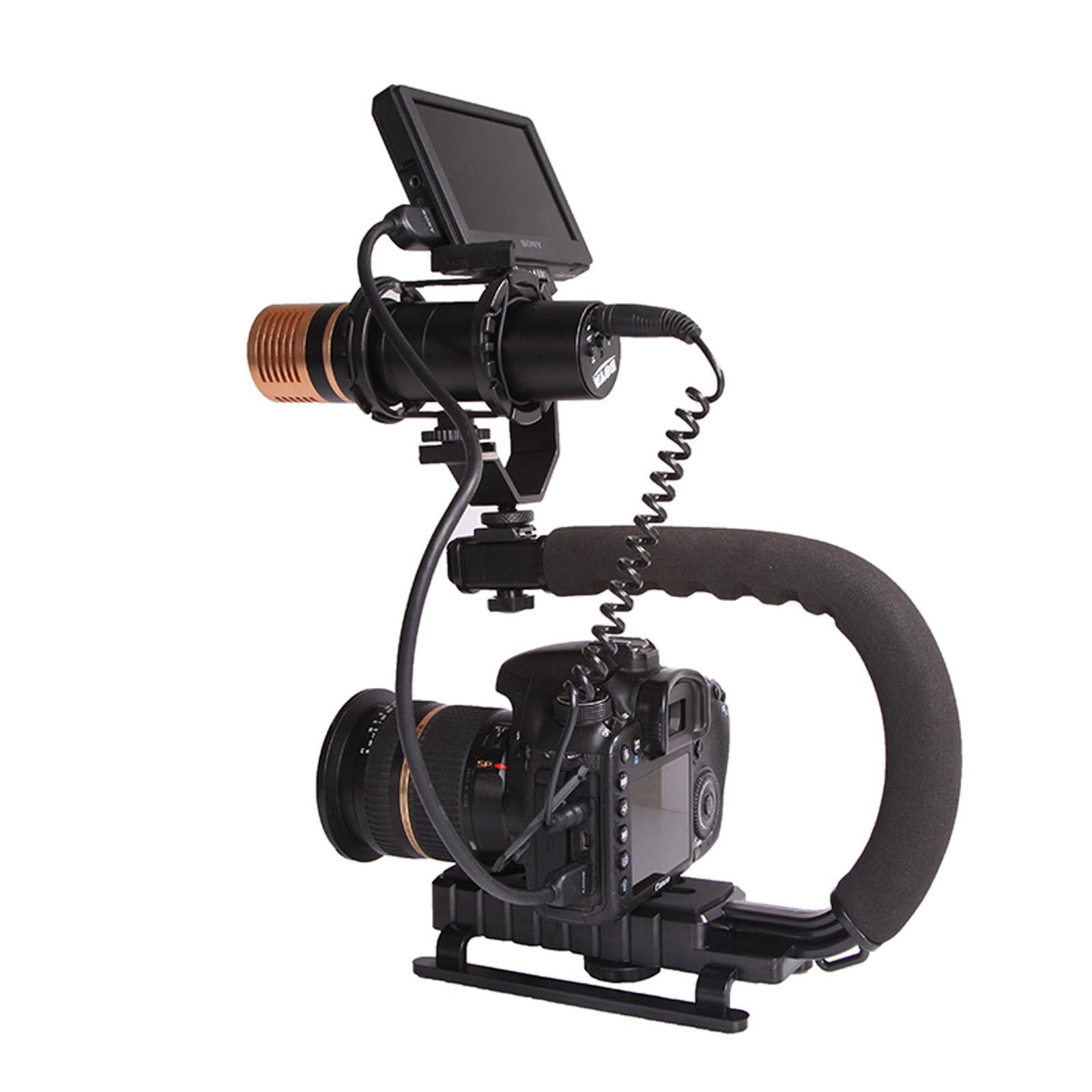 Video Camera Stabilizer >> Stabilizer C Shape Bracket Video Handheld Grip Fit For Camera