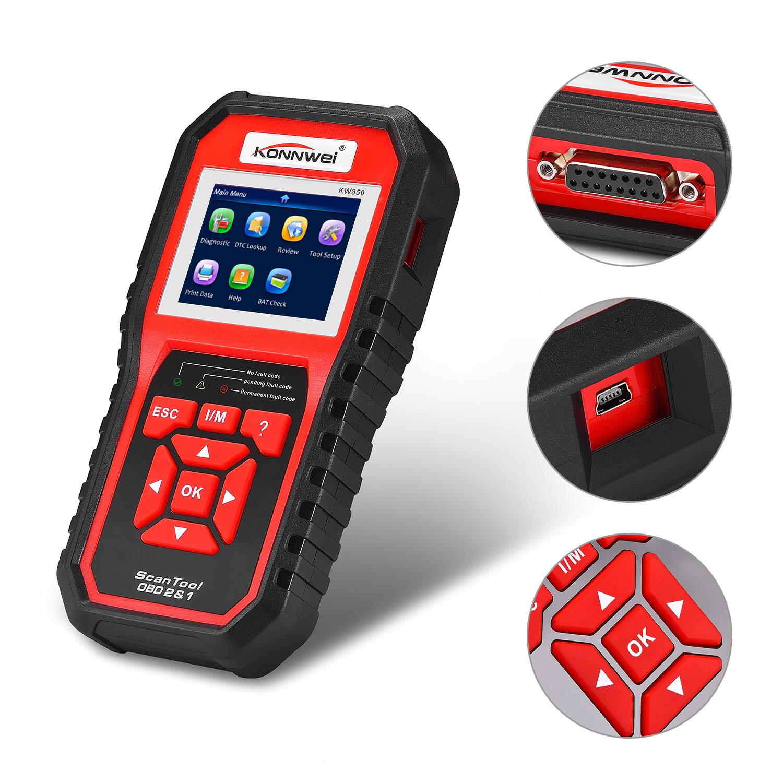 Profi Auto OBDII OBD2 Diagnosegerät Scanner Auto-Tester Codeleser ...