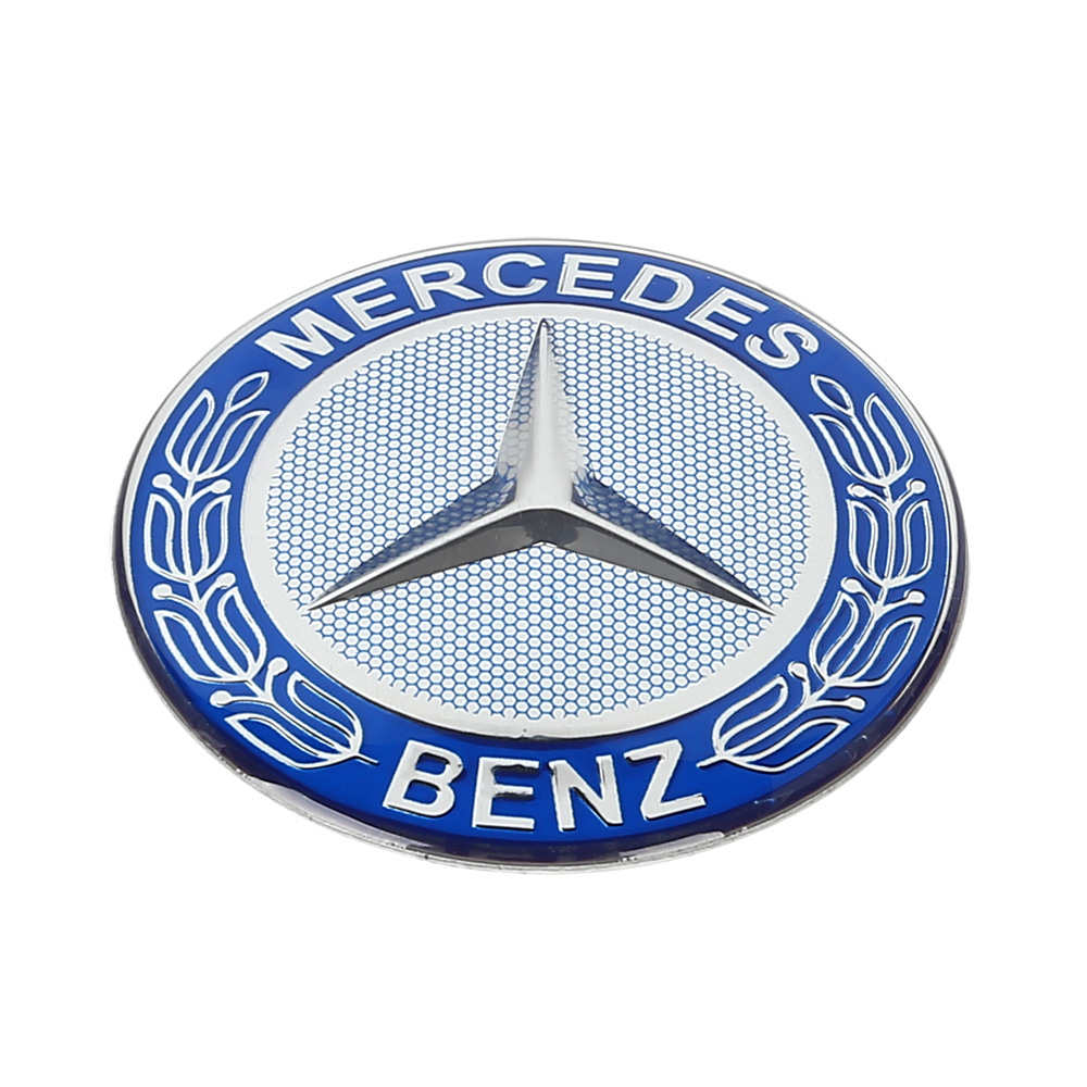 4x car wheel center hub cap styling badge stickers emblem for Mercedes benz badges for sale